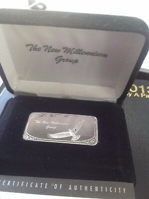 Silver Eagle Official Ingot/bar - The New Millennium Group