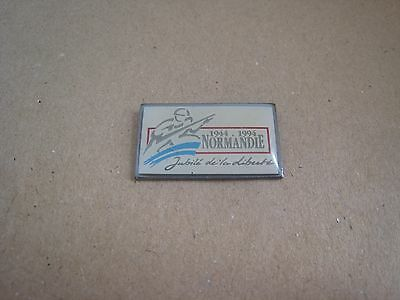 15-01 - 50th anniversary of the D DAY pin - June 6, 1944 pinback - Normandie