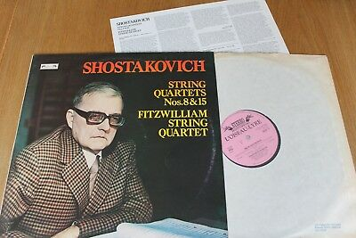DSLO 11 Shostakovich String Quartets Nos 8 & 15 / Fitzwilliam String Quartet