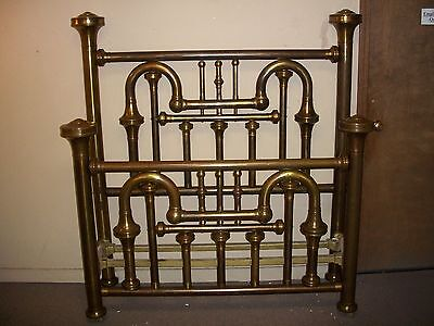 HEAVY and Massive Ornate Full size Brass Bed