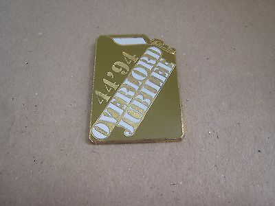 17-01 - 50th anniversary of the D DAY pin - June 6, 1944 pinback - Jerrican
