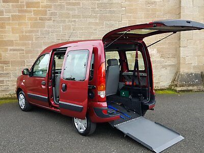 06 Reanult Kangoo 1.2L Expression Gleneagles  --- Wheelchair Access Vehicle ---