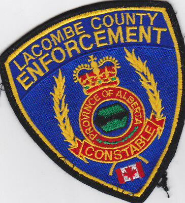 ALBERTA  Lacombe County constable patch, old style