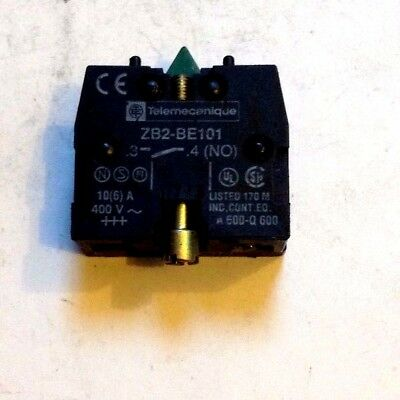 Telemechanique Contact Block For Pushbuttons  Zb2-Be101