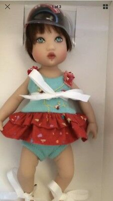 HELEN KISH POPPY CHRYSALIS ,BOX, shipper box and COA baby girl doll