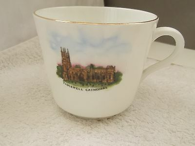 China Cup Showing Tideswell Cathedral By Wilton China