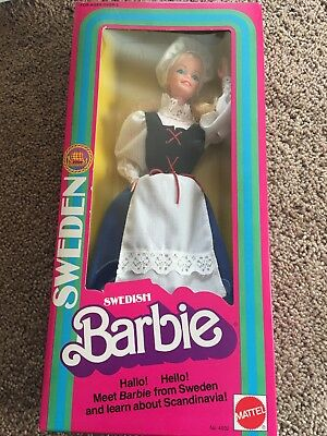 Swedish Barbie, 1982, Mattel