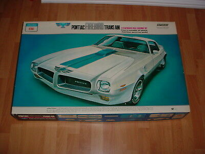 Otaki/entex 1/12 Pontiac Trans Am Kit New In Box, Motorized And Lighted