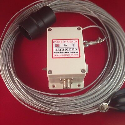 End Fed Antenna 80-10m Resonant On 8 Bands No Atu  Hf Antenna Long Wire End Fed