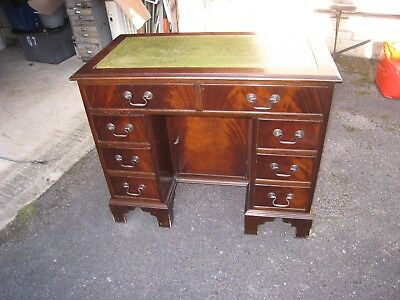 reproduction Lady desk with drawers 36 x 19.5 inch top 30 high
