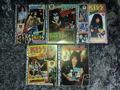 Kiss Army International Official Magazine Bundle x5 Gene Simmons Eric Carr Ace