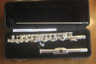 Gemeinhardt Piccolo 4S Solid Silver - New pads and corks.