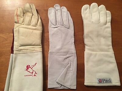 Fencing gloves Right Hand Leon Paul, Blade Size 8, 12.5 and Medium Sports Equip.