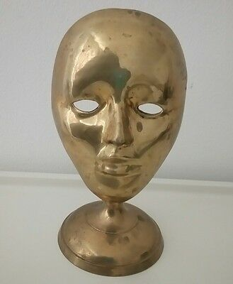 Collectable Rare Brass Mask (20 x 11 cm)