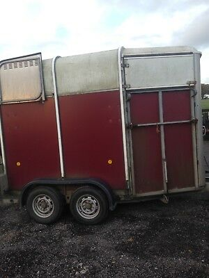 ifor williams red 505 trailer 2004, used weekly and regularly serviced.