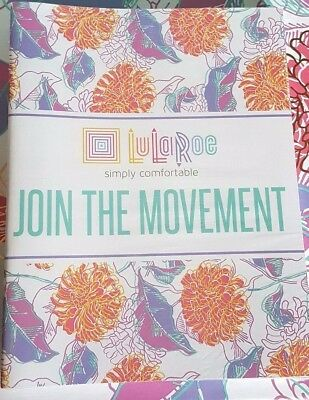LulaRoe Join the Movement Consultant Booklet Set of 10 New Promotional Material
