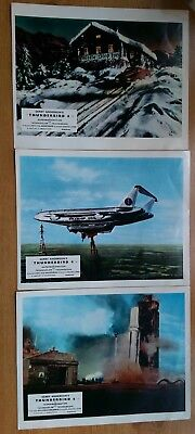Thunderbird 6 lobby cards Gerry Anderson Thunderbirds