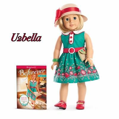 American Girl Kit Doll and Accessories & Book Beforever Doll New In Box