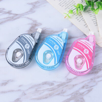 5mm*8mLong Roller Correction Tape White Out Study Office School Stationery ToolA