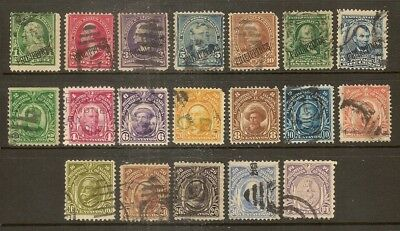 Philippine Islands Used Selection (19v)