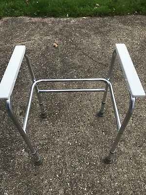 Toilet Seat Raising frame For Standing Up. Disabled Mobility