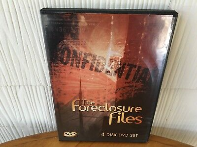 The Foreclosure Files! Top Secrets Of Foreclosure Industry! -  4 Dvd Package!