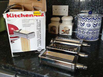 Kitchen Aid Pasta Attachments For Mixers-New