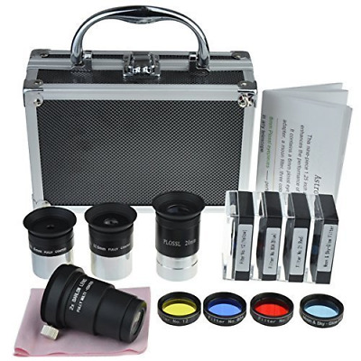 Gosky Astronomical Telescope Accessory Kit - With Telescope Plossl Eyepieces Set