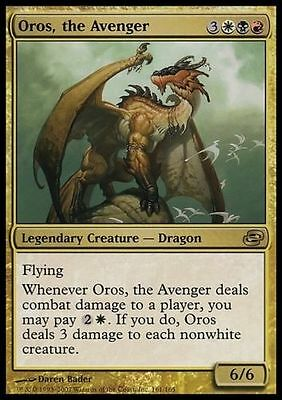 1x FOIL OROS, THE AVENGER - Rare - Planar Chaos - MTG - NM - Magic the Gathering