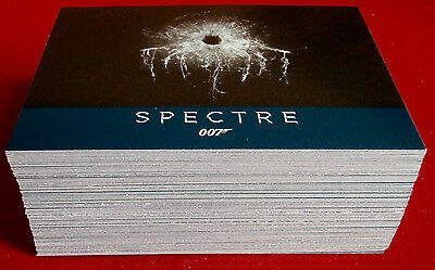 "JAMES BOND ARCHIVES 2016 SPECTRE EDITION - ""Spectre"" Base Set - (76 cards)"