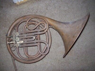 Vintage American Student French Horn Parts Or Repair
