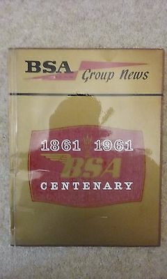 Genuine Factory Bsa Group News 1861 1961 Centenary Book