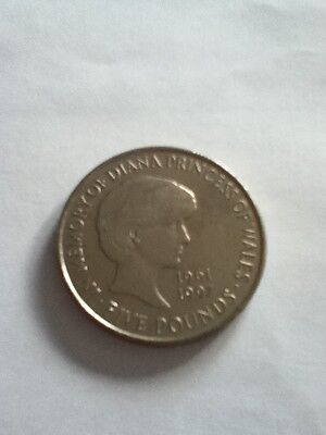 Lady Diana £5 coin