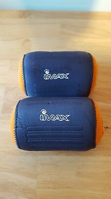 2x large neoprene Imax reel cases