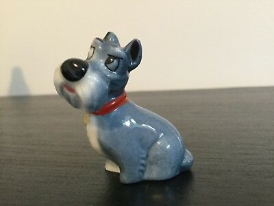 wade hatbox Disney jock scotty dog figure from lady and the tramp