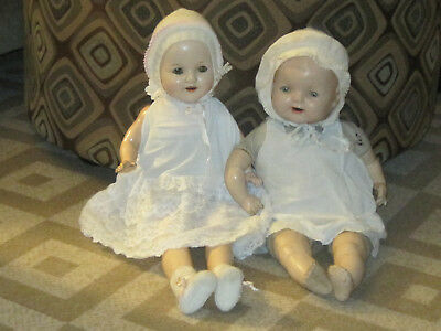 Vintage Hug Me Kiddie Pal Dolly and other composition baby doll, cloth bodies