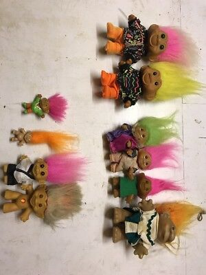 dam trolls job lot soma china ace TNT novelty toy collectible House Clearance