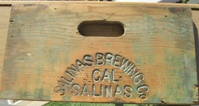Wooden salinas brewing co Box side