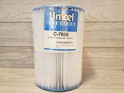 Unicel C-7626 Spa Pool Replacement Cartridge Filter 25 Sq Ft Hayward CX250RE