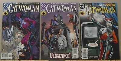 Catwoman 83 84 89 Harley Quinn Gotham City Sirens high grade lot of 3