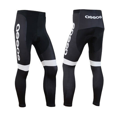 Size 3XL Mens Bicycle Padded Pants Riding Outdoor Sports Wear Cycle Lycra Tights