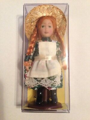 "Heritage Collection Anne Of Green Gables 3"" Porcelain Doll With Stand"