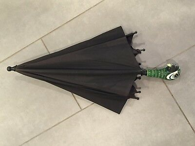 Disney Mary Poppins Green Parrot Head Kids Youth Costume Umbrella Collectible