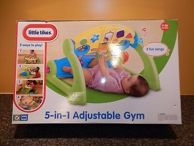 Little Tikes 5 in 1 Adjustable Gym. 5 Fun Songs. #635308M Unopened. NIB
