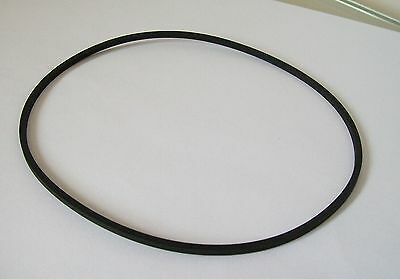 Rubber Drive Belt 195 mm Replacement For Cassette Reel To Reel Or Video Player.