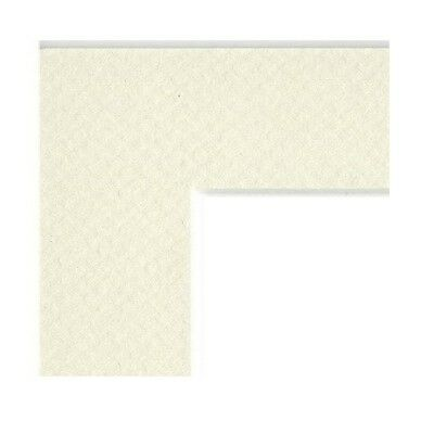Mat Board Picture Frame Matting With Pre Cut Opening Antique White