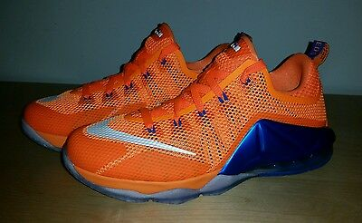 New Nike LeBron XII 12 Low GS Basketball NY KNICKS  Youth US 7 Bright Citrus