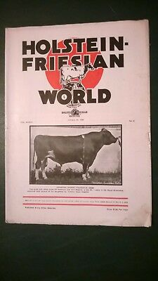 "Holstein World 1936 The ""r.austin Backus"" Story + Elmwood Farms Story + +"