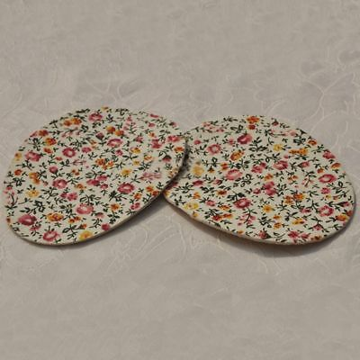 Floral Pattern High Half Metatarsal Heel Insole Forefoot Foot Pads Cushion