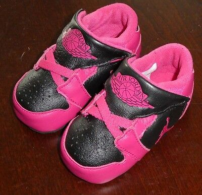 Jordan Infant 1st crib CB shoes new pink 370305 018 sneakers baby